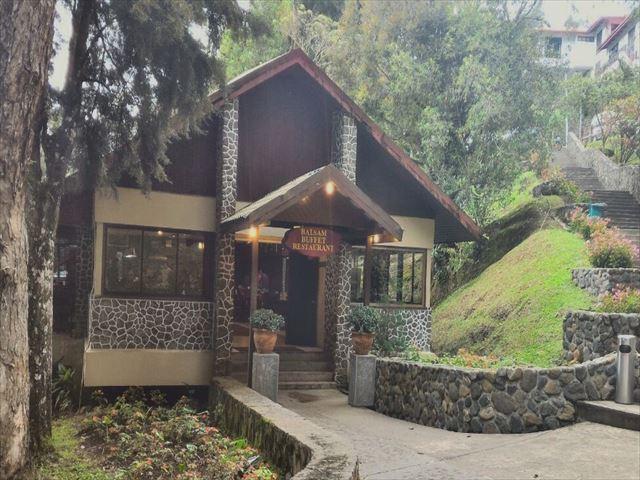 キナバル公園内のレストラン