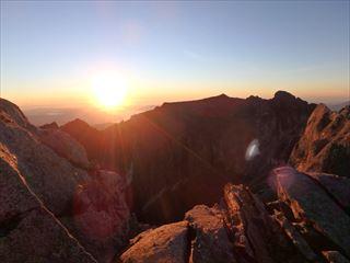 ロウズピーク山頂