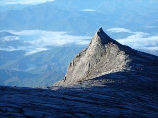 山頂付近のロウズピーク